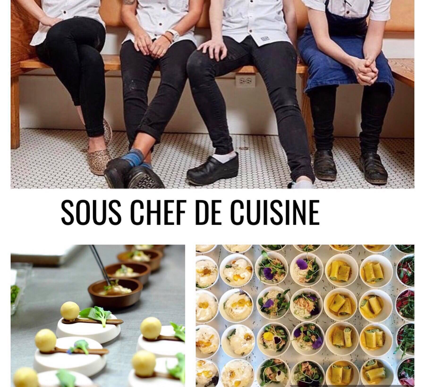 Sous chef de cuisine rhea recrutement for Offre emploi chef de cuisine