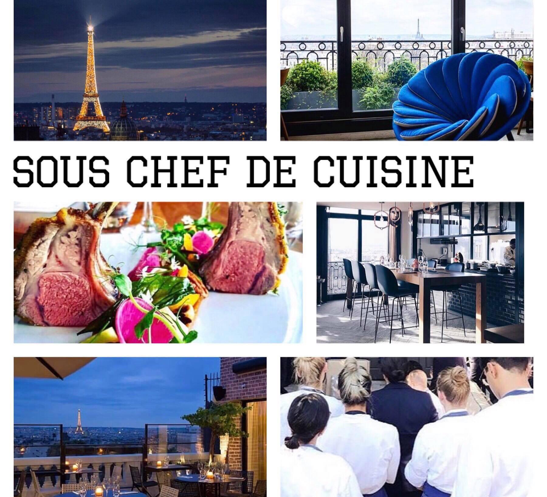 Sous chef de cuisine rhea recrutement - Salaire net commis de cuisine ...